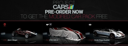 New Pre-order Bonuses Revealed for Project Cars The Modified Car Pack DLC