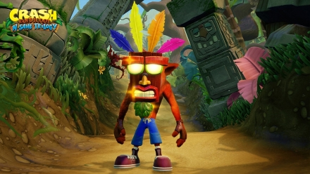 Crash Bandicoot Mask