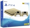 PS4 Slim 500GB Console Gold with 2