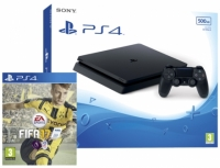 PS4 Slim 500GB Console With FIFA