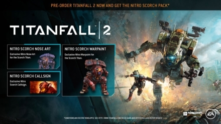 Pre-order Titanfall 2 Nitro Pack DLC + Early Access to the Angel City Map