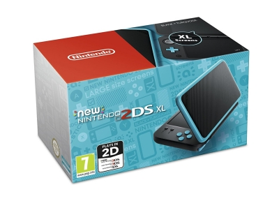 Nintendo 2DS XL - Black And Turq