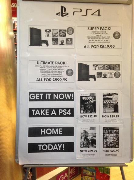Hmv ps4 deals
