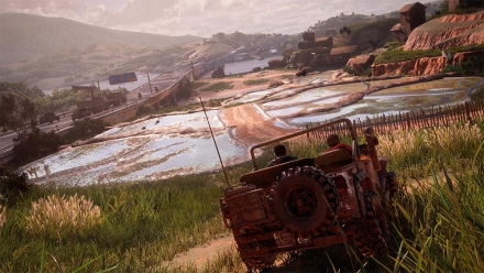 Uncharted 4: Drivable Vehicles