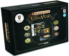 Professor Layton and the Curious Village - Nintendo DSi Bundle