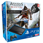 PS3 with AC IV Black Flag bundle - box