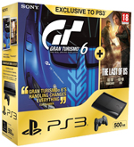 PlayStation 3 500GB console with Grand Turismo 6 + The Last of Us