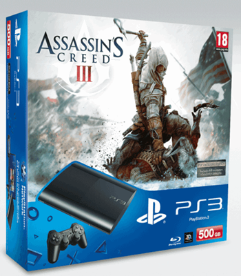 Assassins Creed PlayStation 3 500GB console