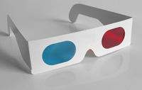 Red Cyan Anaglyph Glasses