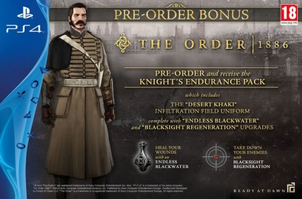 The Order 1886 pre-order