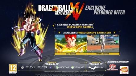 Dragonball XenoVerse: Xbox One & PS4