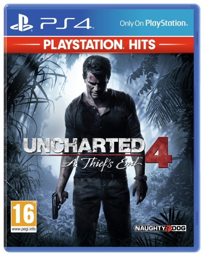 Uncharted 4 A Thief's End Hits PS4