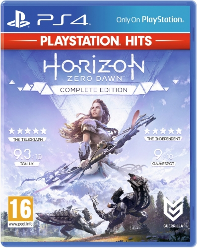 Horizon Zero Dawn Hits PS4