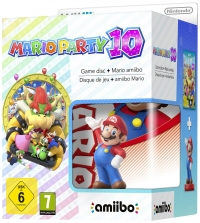 Mario Party 10 + Mario Amiibo Limited Edition Wii U
