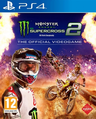 Monster Energy Supercross 2 - The Official Videogame PS4