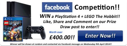 Win a PS4 and the Hobbit Game - Simply Games