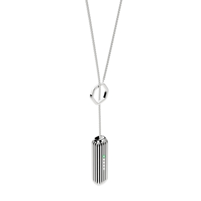 Fitbit Flex 2 Accessory Pendant Stainless Steel