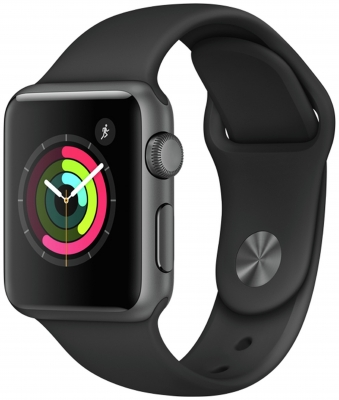 Apple Watch S1 38mm Space Grey /