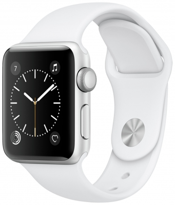 Apple Watch S1 38mm Silver Alumi