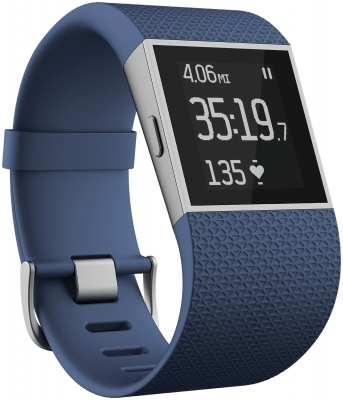 Fitbit - Surge Blue - Small
