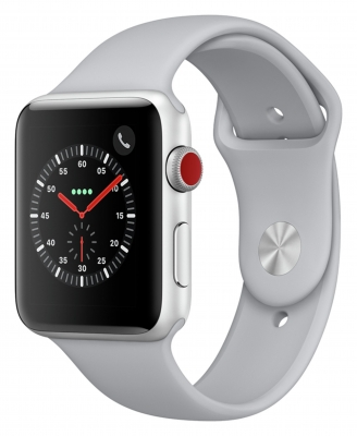 Apple Watch Series 3 Cellular 38mm - Silver Alu Case - Fog Band