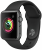 Apple Watch S1 38mm Space Grey / Black Sport