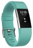 Fitbit - Charge 2 HR + Fitness Band Teal -