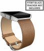 Fitbit - Blaze Leather Accessory Band Camel