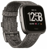 Fitbit Versa Smartwatch - Charcoal Small +