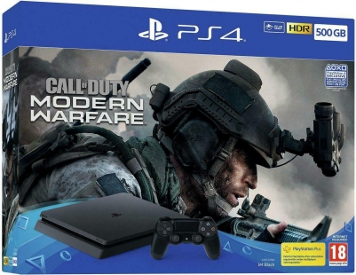 PS4 500GB Console with Call of Duty: Modern Warfare