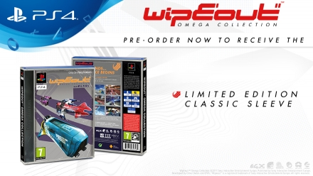 WipEout Omega Collection Classic Sleeve Limited Edition