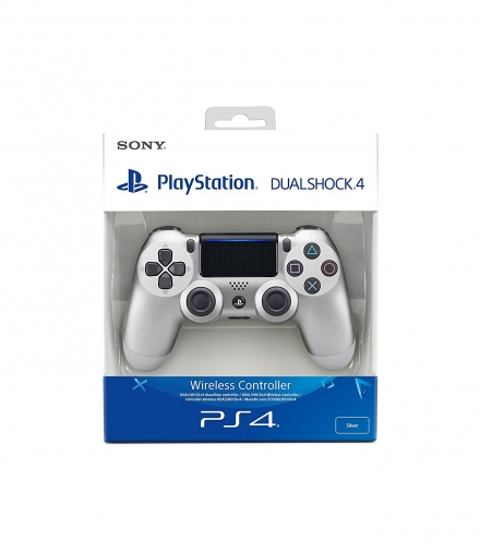 Sony PlayStation 4 Silver DualShock 4 Controller
