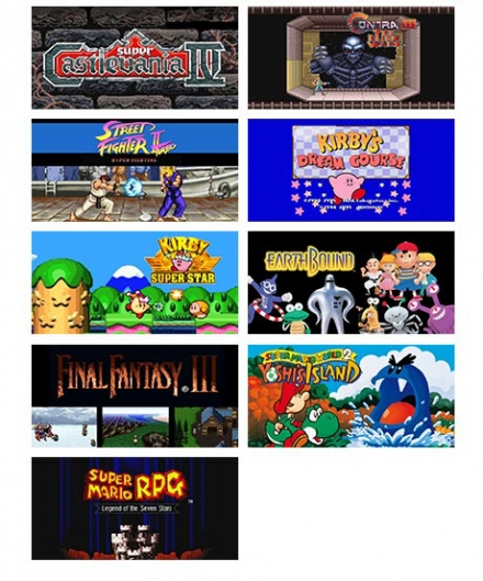 SNES Mini Games 11-21
