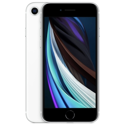 iPhone SE 64GB Mobile Phone SIM Free - White