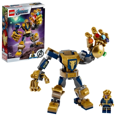 LEGO Super Heroes Marvel Avengers Thanos Mech Set
