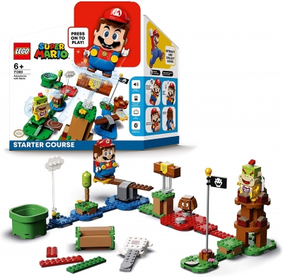 LEGO Super Mario Adventures Starter Course Interactive Toy Game
