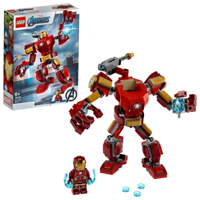 LEGO Super Heroes Marvel Avengers Iron Man Mech Set