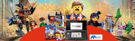 Win a Nintendo 3DS console and LEGO Movie Goodie bag