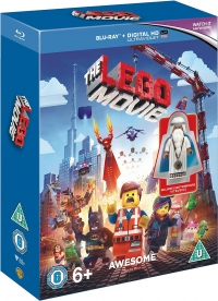 The LEGO Movie Blu-ray + Vitruvi
