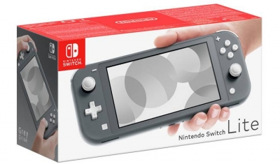 Nintendo Switch Lite Handheld Console Grey