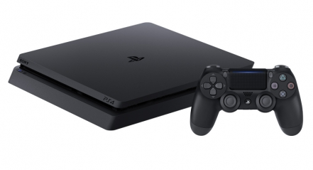 PlayStation 4 Slim 1TB with V2 DualShock 4 controller