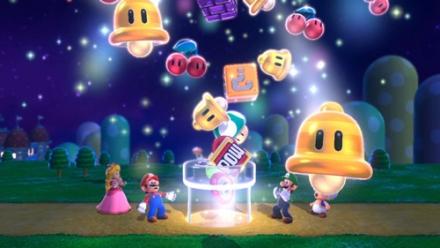 Wii U Mario, Luigi, Peach, Bowser