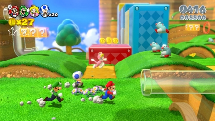 Super Mario 3D World Walkthrough Pipes