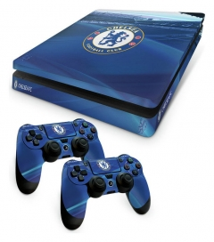 Chelsea FC PS4 Slim Skin Bundle