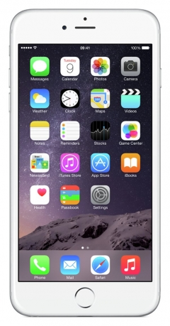 Sim Free IPhone 6 Plus Certified Pre Owned 64GB - Silver