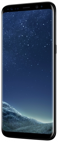 Sim Free Samsung Galaxy S8 Mobile Phone - Midnight Black