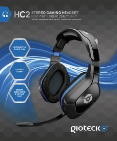 Gioteck HC2 Stereo Wired Gaming