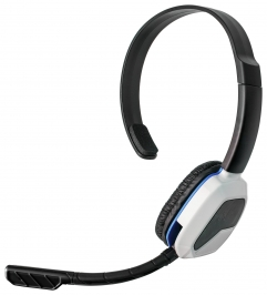 Afterglow LVL 1 Mono Chat Headset For PS4 White
