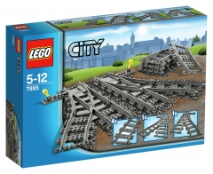 LEGO City Trains Switch Tracks - 7895