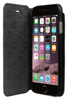 Bugatti - IPhone - 7 Leather - Booklet Case - Black